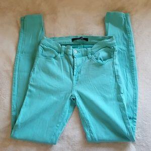 J Brand Super Skinny Indigo Blue Jeans